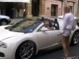 Girl Wants The Phone Nr. Of The Bugatti Veyron's Driver