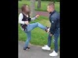 Girl Kicked To The Ground By Bully