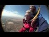 Great Grandma Celebrates 100th Birthday By Going Skydiving