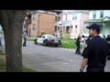 Ghetto Fight Face Kick Suspect UTICA