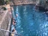 Gary The Goat Goes To The Mataranka Thermal Pool