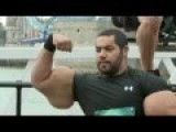 Guy Gets Into Guinness World Record Book 2013 With Fake Muscle From Synthol
