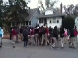 Gary Indiana Fights And Riots At High School