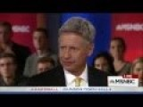 Gary Johnson - 'I Guess I'm Having An Aleppo Moment'