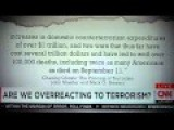 G. W. Bush - Costs Of Terrorism