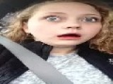 Girl Confused After Wisdom Teeth Surgery