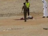 Graphic- Close Up Of A Saudi Beheading By Sword