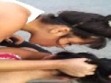 Ghetto Catfight In Argentina: One Girl Submits The Other, Kicks Her In The Face