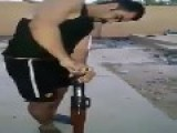 Guy Shoots RPG For First Time