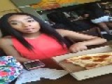 Girl Freaks Out After Boyfriend Takes A Slice Of Her Pizza