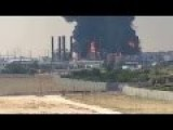 Gaza's Only Power Plant Up In Flames