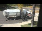 Garbage Truck Epic Fail