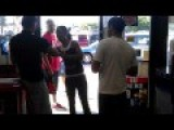Ghetto Black Lady Vs Liquor Store