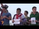 Georgians Protest Russian Encroachment