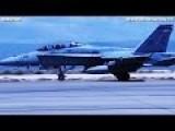 GERMAN TORNADO, F-16, F-18, USMC HARRIER, T-38 Taking Off From HOLLOM 299f AN AFB