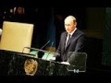 HISTORIC Vladimir Putin WORLD Changing Speech UN 2015 ENG