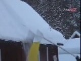How To Clear Snow Off Your Roof Like A BOSS Only In Sweden