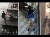 Heroic Man Climbs Six Storeys To Rescue Boy Hanging From Window