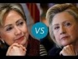 Hillary Vs Hillary In 60 Seconds