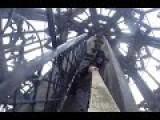 Heart Stopping Moment Man Climbs World's Highest Church Tower