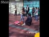 Husband Told By Wife To Kneel On Ground To Reflect On Wrongdoing S