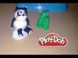 How To Make Sweet Panda & Bamboo From Play-Doh