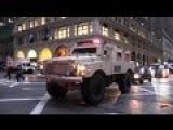 Heavy Armored SWAT Trucks In New York!