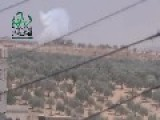 Hell Cannon Explosive Hit On SAA Tank