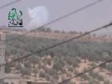 Hell Cannon Explosive Hit On SAA Tank