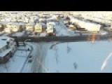 HD Drone Footage Of Calgary Alberta In Winter - WTF?