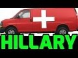 Hillary's Loony VAN Ambulance! Doctor Rides Along, Drugging Clinton For Seizures