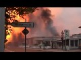 Huge Gas Explosion Results In Massive Blaze In Germany