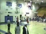High School Basketball Player = BODY SLAMS Referee For Bad Call =