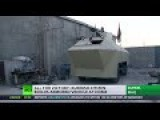 Homemade APC: Kurdish Man Builds War Vehicle At Home To Fight ISIS
