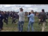 Hungarian TV Camerawoman Indicted For Tripping Syrian Refugees