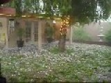 Heavy Hail Storm In Georgia