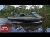 Hovercraft To Fight Colombian Terrorist Groups And Cocaine Traffickers