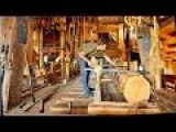 How A Wind Powered Sawmill Works - The Netherlands