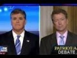 Hannity To Rand Paul: I Supported Iraq War, Do You Blame Me For ISIS Too?