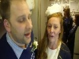 Happy Couple Tie The Knot At 35,000 Feet