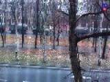 Huge Armed Russian Fed. Column In Donetsk 1 11 2014