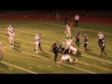 High School Football Player Smacks Opposing Player W Own Helmet