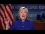 Hillary Want's To Know Why She Isn't Ahead Of Trump By 50pts