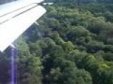 Hard Landing Into UK Airport Southampton