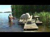 How NOT To Bathe Your Great Pyreneese
