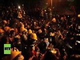 Hong Kong: Watch Hundreds Of Protesters Clash With Police
