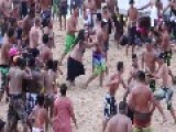 Huge Beach Fight In Hawaii ... Paradise Lost