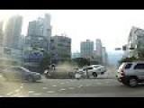 Horrific Car Crash In South Korea