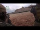 Heavy Firefights Between Syrian Rebels And Syrian Army During Fighting In The Battle For Aleppo