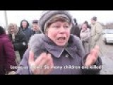 Humanitarian Crisis In Ukraine: Ordinary People Say What They Think ENG Subs